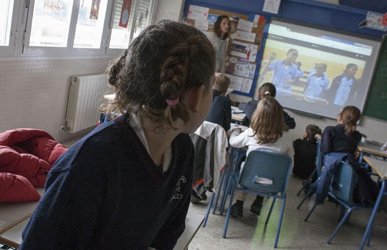 Hermanamiento entre colegios- Educación en Valores