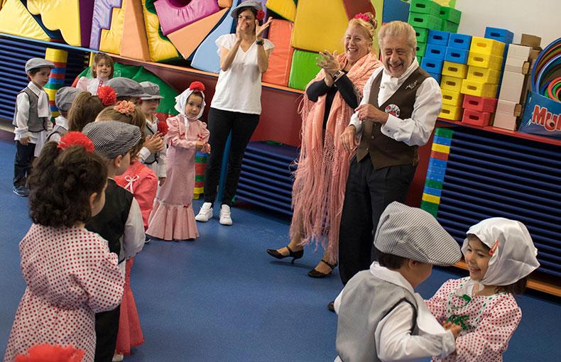 San Isidro en Educación Infantil