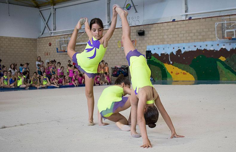 competición gimnasia rítmica Ábaco