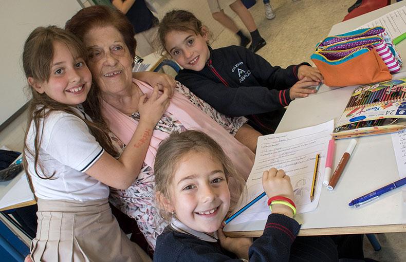 Tarde con los abuelos Educación Primaria