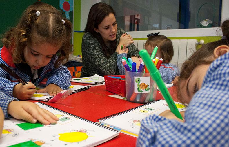 apoyo clase educación infantil orientación
