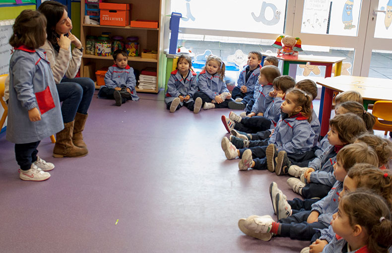 asamblea educación infantil