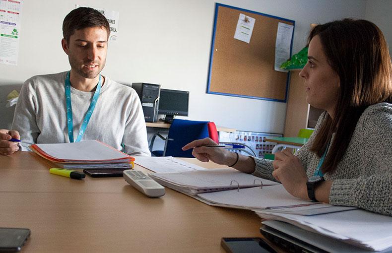 reunión orientación tutores