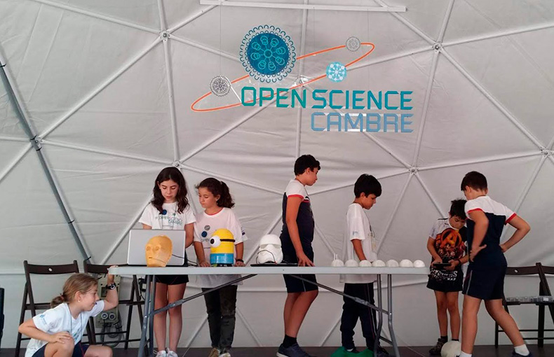 Feria Ciencia Open Science