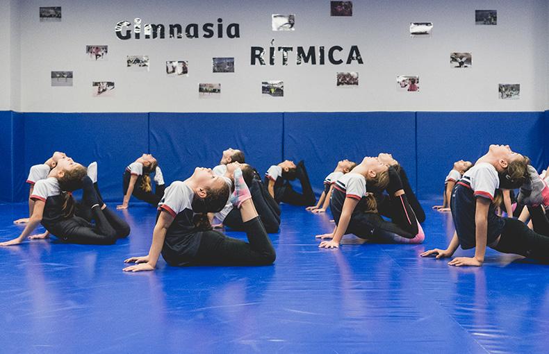 gimnasia rítmica Ábaco