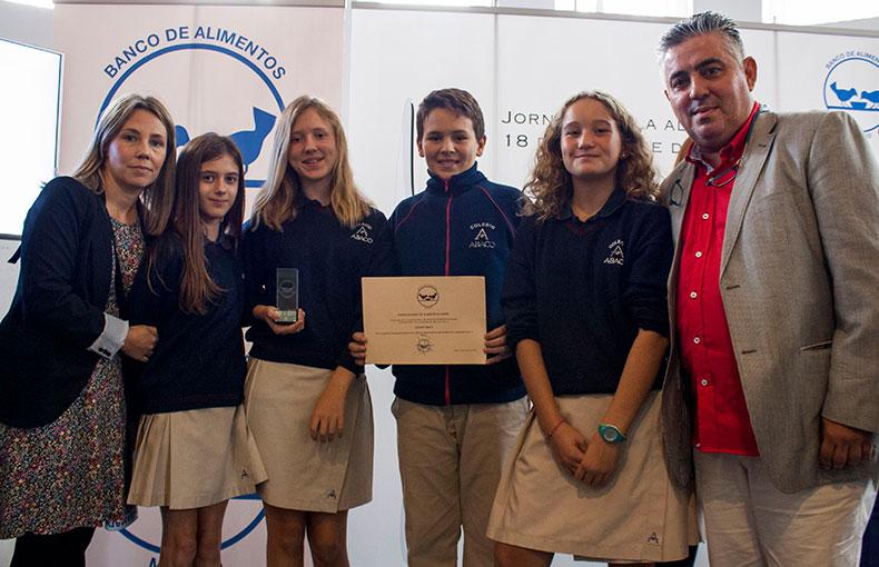 Banco Alimentos Premio Colegio Ábaco