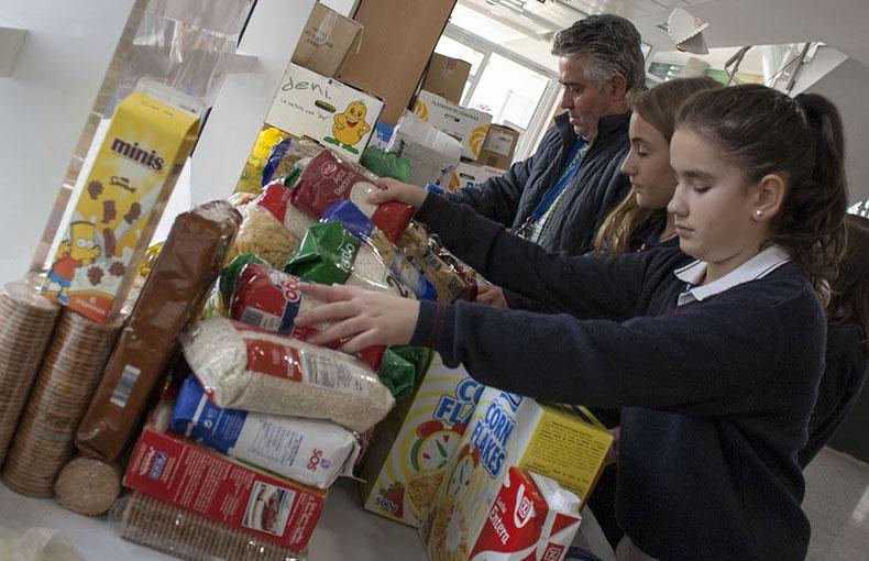 Campaña Alimentos Colegio Ábaco