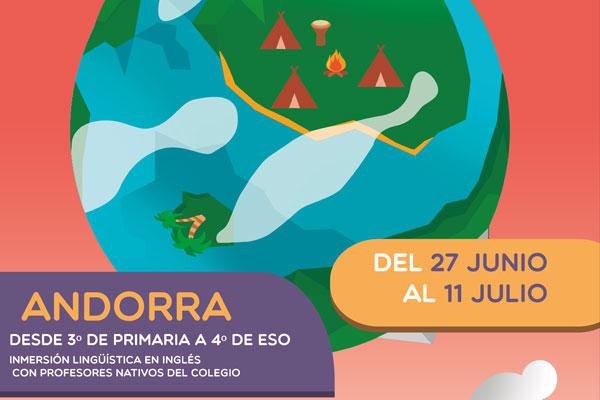 campamento Andorra Colegio Ábaco