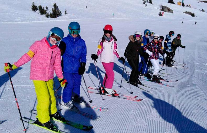 Viaje de esquí a la nieve Ábaco 2020