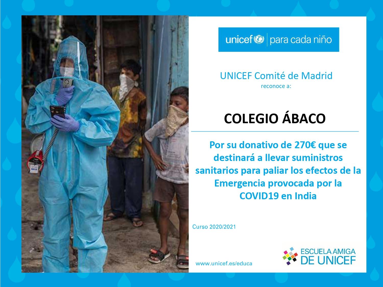 Campaña Solidaria UNICEF